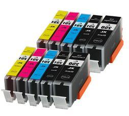 10 Ink Cartridges for PGI-250XL CLI-251XL Canon Pixma MG5620