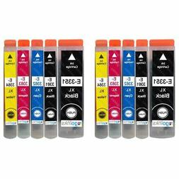 10 Ink Cartridges XL  for Epson Expression Premium XP-530, X