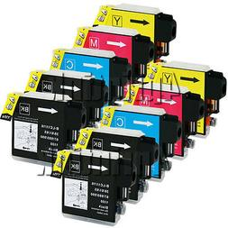 10 Pack LC61 LC-61 Ink Fits Brother MFC-490CW,495CW,990CW,MF
