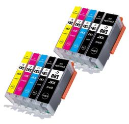 color ink cartridges chip for 280xxl 281xxl