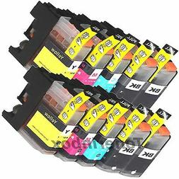 10PK LC203 XL High Yield Compatible Ink Cartridge For Brothe