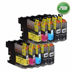 10 Pk LC103 XL Compatible Ink Cartridge For Brother DCP-J152