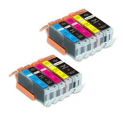 10 PK Quality Printer Ink Set For Canon PGI-250 CLI-251 MG66