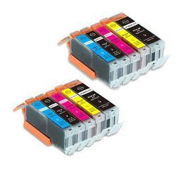 10 PK Quality Printer Ink Set For Canon PGI-250 CLI-251 MG66