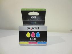Lexmark 100XL 3 Ink Color Set Multipack Cyan Magenta Yellow