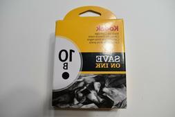 Kodak 10B Ink Cartridge - Black - 1 Year Limited Warranty