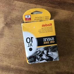 Kodak 10XL Black High Capacity Ink Inkjet Cartridge New Genu
