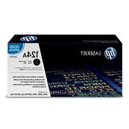 HP 124A  Black Original Toner Cartridge for HP Color LaserJe