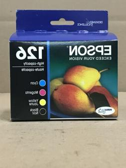 Epson 126 T126120-BCS Black/Cyan/Magenta/Yellow Ink Cartridg
