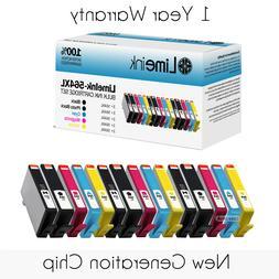 15pk for HP 564 XL Ink Cartridges Set Pack PhotoSmart Plus B
