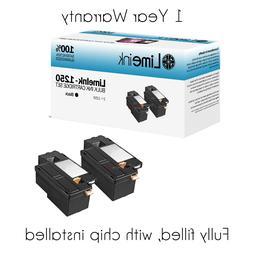 2 Black 1250 Toner Cartridge For Dell Laser 1250c 1350cnw 13