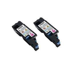 2 Magenta Toner Cartridge For DELL C1760 C1760nw C1765 C1765