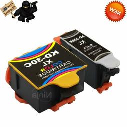 2 Pack 30 XL Ink Cartridges for Kodak ESP Office 2170 ESP C1