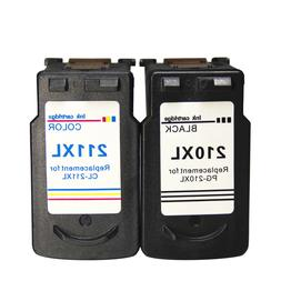 2 Pack PG-210XL AND CL-211XL  Ink Cartridge for Canon Pixma