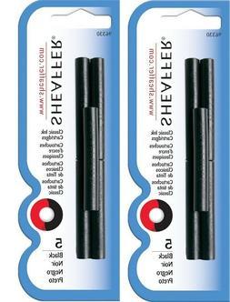 2 Packs, Genuine Sheaffer Skrip Fountain Pen Ink Cartridges,