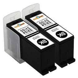 2PK Series 21 22 23 24 Black Ink Cartridges for Dell V313w V