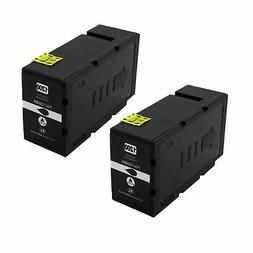 2-Pk/Pack PGI-1200XL 1200XL Bk Ink For Canon MAXIFY MB2020 M