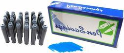 24 Premium Fountain Pen Ink Cartridges for Montblanc, Cartie