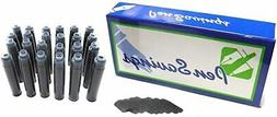 24 - Fountain Pen Refill Ink Cartridges for Montblanc, Carti
