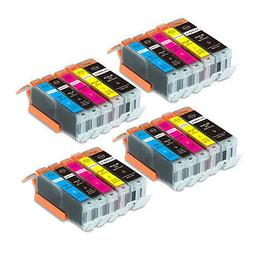 20 PK Quality Printer Ink Set For Canon PGI-250 CLI-251 MG66