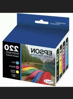 Epson - 220 4-pack Ink Cartridges - Black/cyan/magenta/yello