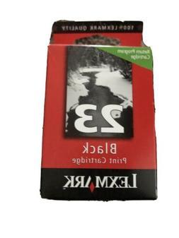 Lexmark 23 OEM Genuine Original Black Ink Cartridge Sealed