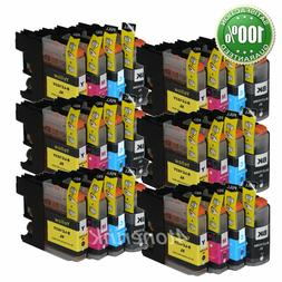 24pk Ink Cartridge For Brother LC103 LC-103 XL MFC-J470DW, M