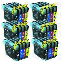 24PK New LC61 Ink For Brother MFC-250C MFC-295CN MFC-385CW M