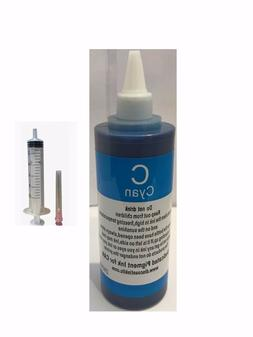 250ml Cyan Pigment refill ink for Canon cartridge PG-245 and