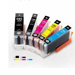 PGI-280XXL CLI-281XXL Ink Cartridges for Canon PIXMA TS6120
