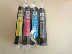 Epson 288 Ink Set of 4 CMYK NEW OEM 288i Sealed XP 330 340 4