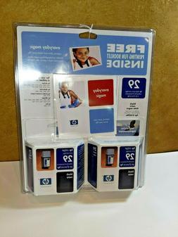 HP 29 Black Inkjet Cartridge 51629A  Genuine New Expired + H
