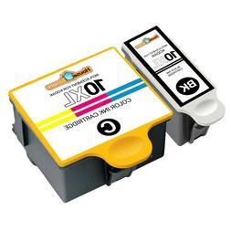 2pk 10 XL Black & Color Ink Cartridges for Kodak EasyShare 5