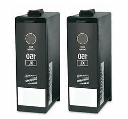 2Pk 150XL Black Ink Cartridge For Lexmark S515 S415 S315 Pro