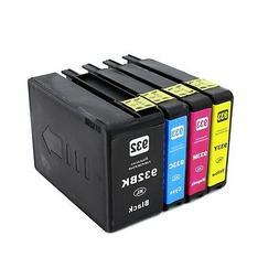 2PK 932XL Black Ink Cartridge for HP Officejet 6100 6700 660