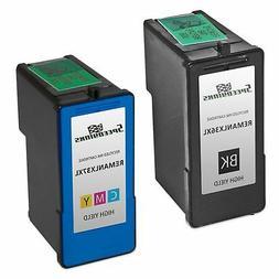 2pk Lexmark 36XL 37XL HY Ink Cartridge Black & Color Set X46