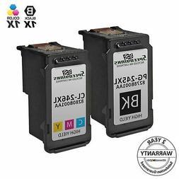 2pk PG-245XL Black & CL-246XL Color Ink for Canon PIXMA iP28