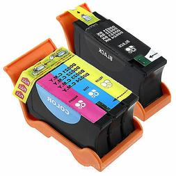 2PK Series 23 HY INK Compatible Dell T105N T106N V515w