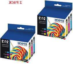 2x Epson 212 3-Color Ink Cartridge For WorkForce XP-4100 XP-