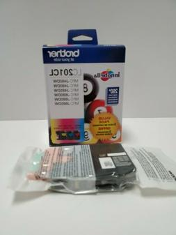 Brother 3 Color LC201CL Ink Cartridges Magenta Cyan Yellow P