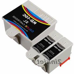 3 PacK Kodak 10 10B 10C Compatible Ink Cartridge Fits EASYSH