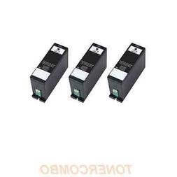 3 pack 33XL Black ink for Dell V525W V725W Printer FREE SHIP