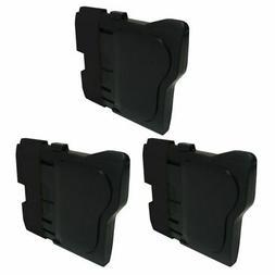 3 Packs 3x Insten Ink Cartridge for Brother LC61BK, Black