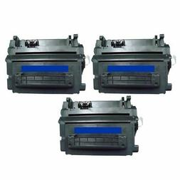3 Packs 3x Insten Non-OEM Toner Cartridge for HP 64A CC364A,