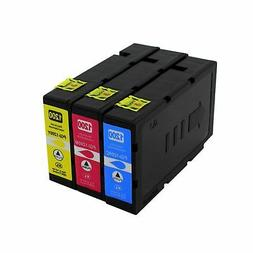 3-Pk/Pack PGI-1200XL C/M/Y Ink For Canon MAXIFY MB2020 MB212