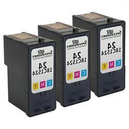3PK For Lexmark 18C1524  Color Ink Cartridge X4550 X3550 Z14