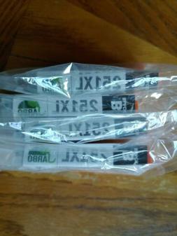 4- JARBO 251XL BLACK INK VARTRIDGES