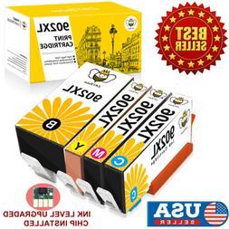 4 902XL Ink Cartridges for HP 902 XL OfficeJet Pro 6954 6962
