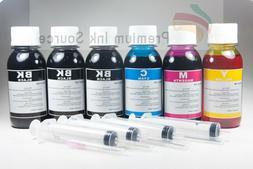 4-Color Bulk Ink Refill Kit for Canon Inkjet Printer Cartrid