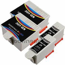 4 Pack  #10 Ink Cartridges For Kodak 10B 10C ESP 3250 5210 5